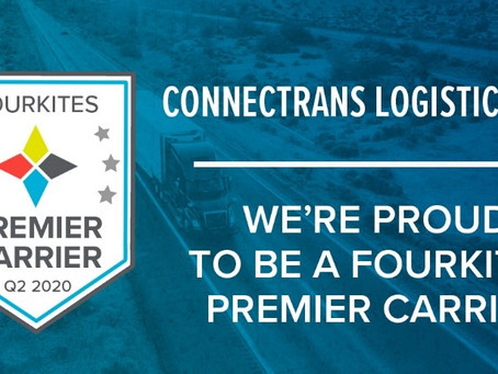 CONNECTRANS ONCE AGAIN AWARDED FOURKITES PREMIER CARRIER RECOGNITION