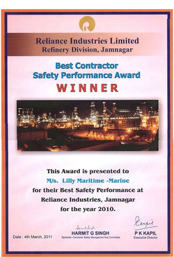Safety performance awards (1)