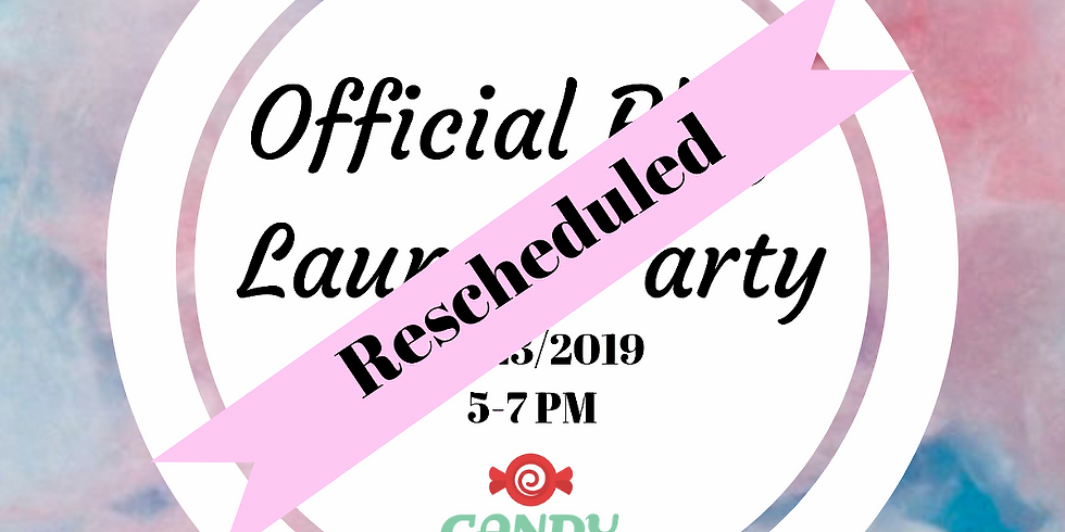Official Blog Launch Party... RESCHEDULED