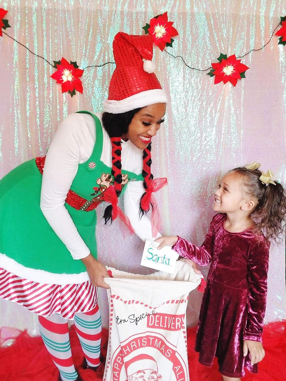 Santa's Helper Sweet Visit!