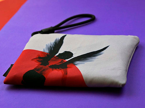 Red Icarus pouch