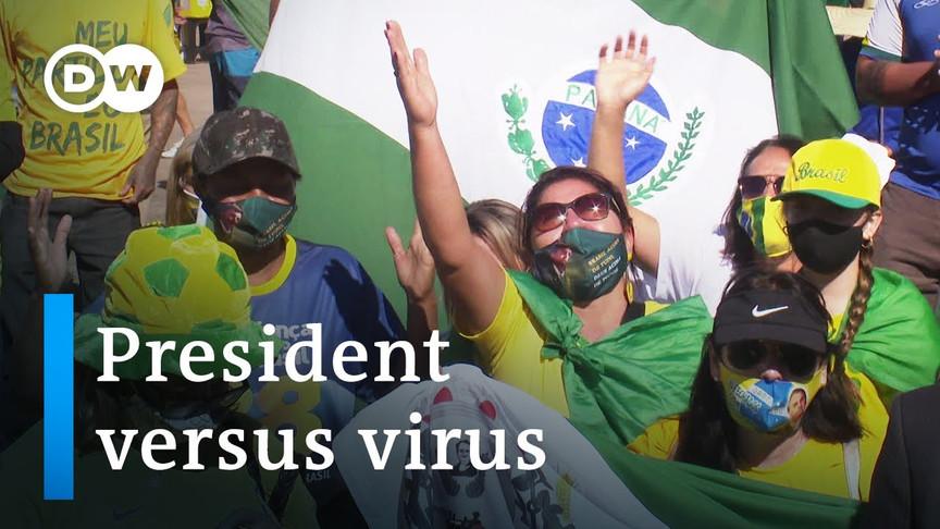 Brazil's President Bolsonaro and coronavirus