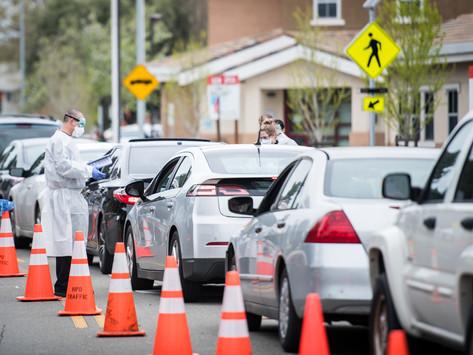 Hayward Testing Center Overwhelmed