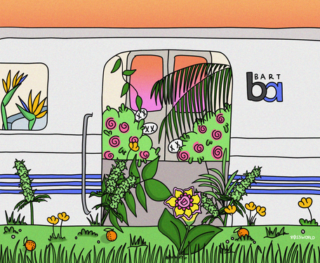 Bart Goes Green