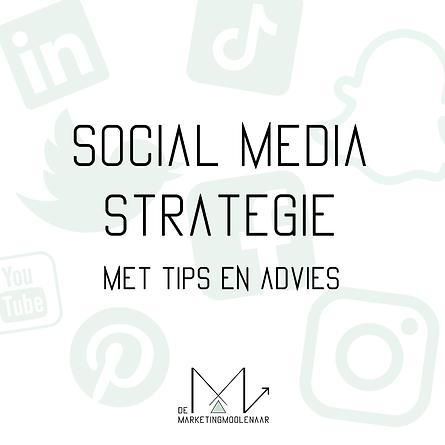 social media strategie met advies en tip