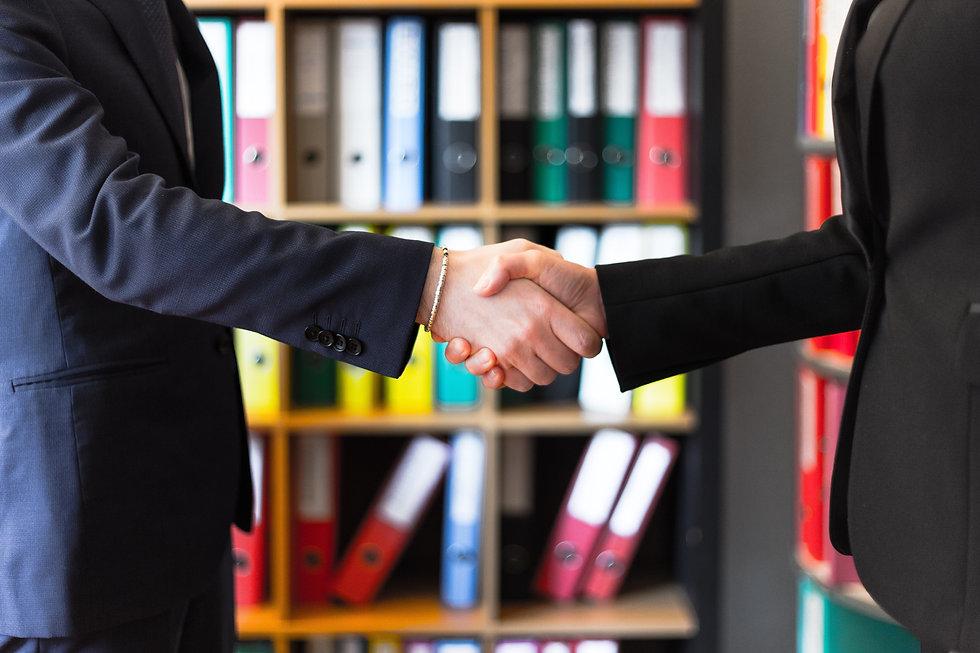hulp nodig bij ict advies of inkoop handshake