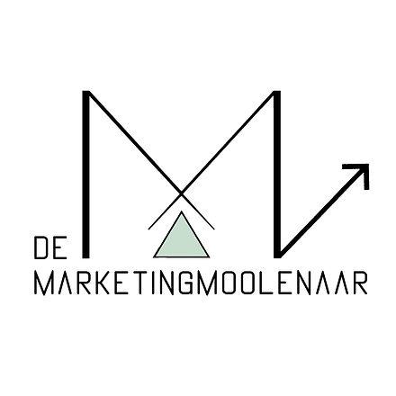 Logo DE Marketingmoolenaar met achtergro