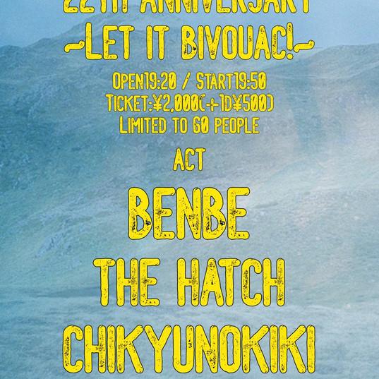 2021/2/28 SOUND CRUE 22TH ANNIVERSARY〜LET IT BIVOUAC!〜