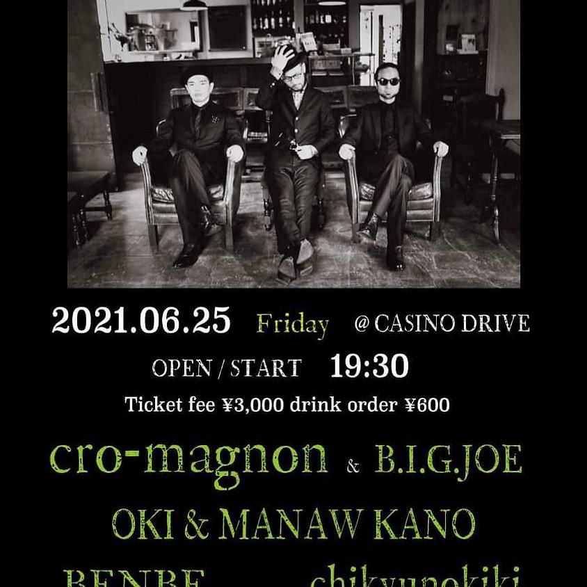 cro-magnon go HOKKAIDO @CASINO DRIVE