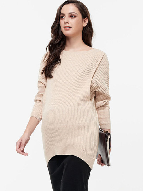 Knitted Maternity and Nursing Jumper