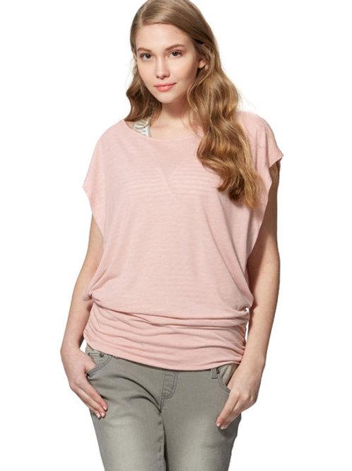 Spring Two-piece Maternity/Nursing Top- Pink