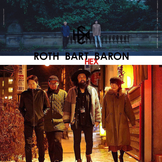 """2019/2/3 BENBE presents ROTH BART BARON """"HEX """"TOUR 2018-2019"""