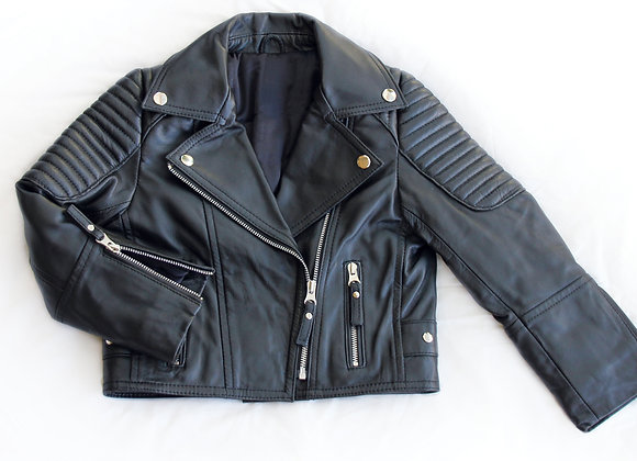 Quilted Leather Jacket | Pre-Order