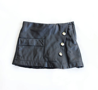 Too Cool for School Leather Skirt | Pre-Order