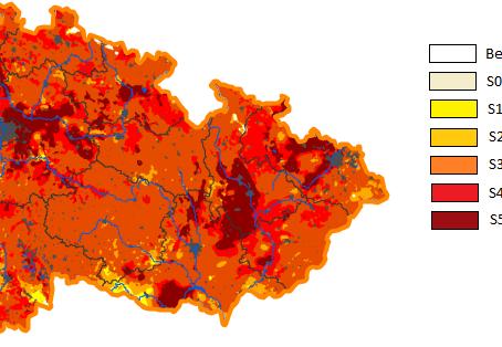 Díky převažujícímu suchu nebezpečí požárů už v dubnu