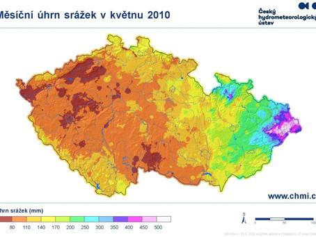 Mimořádné srážkové úhrny a povodně          v květnu 2010 na severní Moravě a ve Slezsku