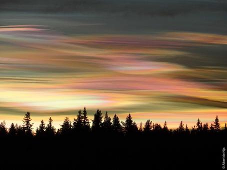 Krásná podívaná, stojí ale za úbytkem ozonu nad severním pólem