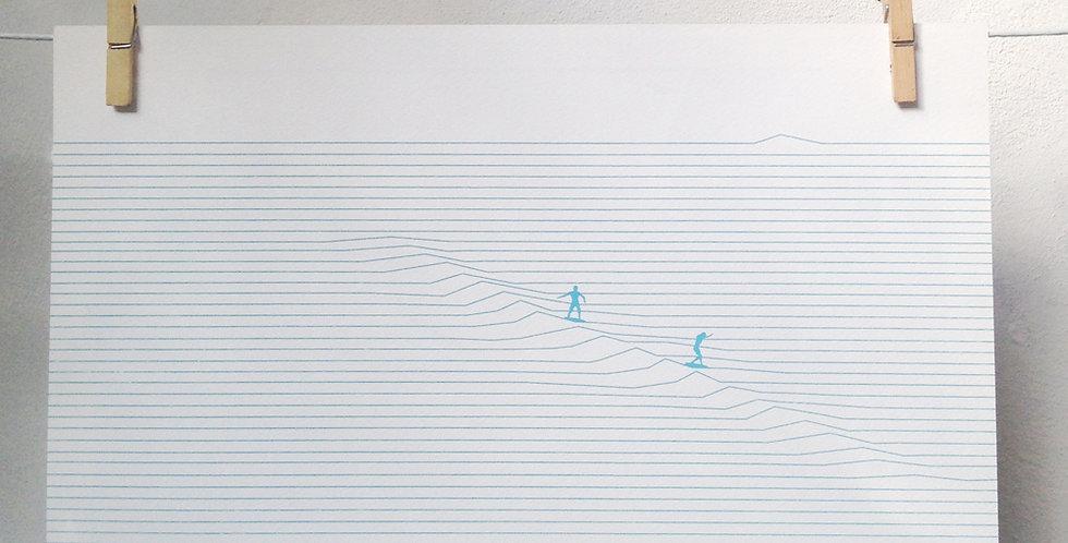 POSTER SURFLINE