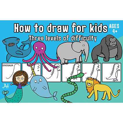 Funded How to draw 4+ (eBook)