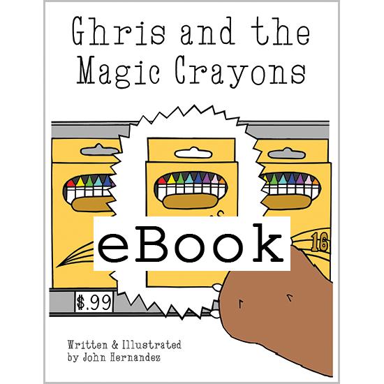 Bear and the Magic Crayons (eBook)