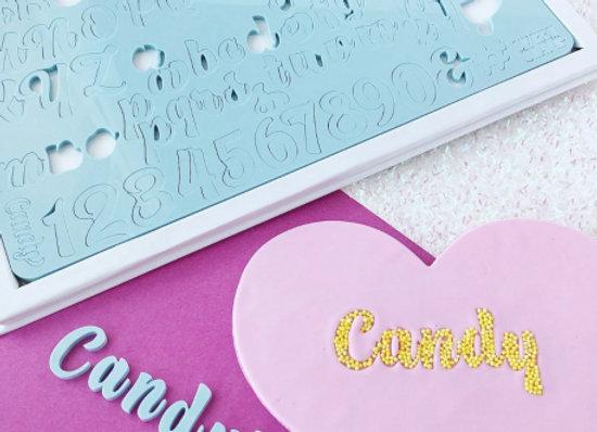Embosseur - Alphabet Candy pour Gâteau