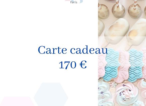 Carte cadeau - 170€