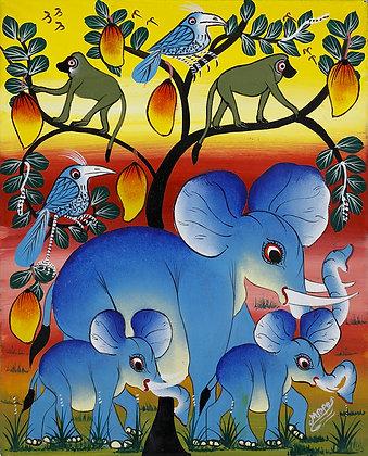 Elephant/Bird/monkey