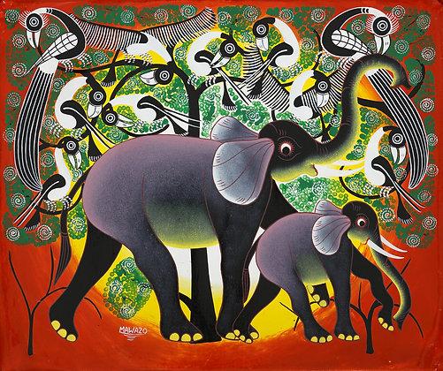 Elephant / Bird