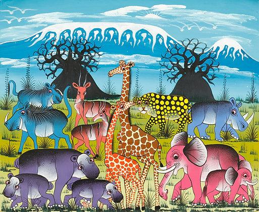 Animals/Baobab/Kilimanjaro