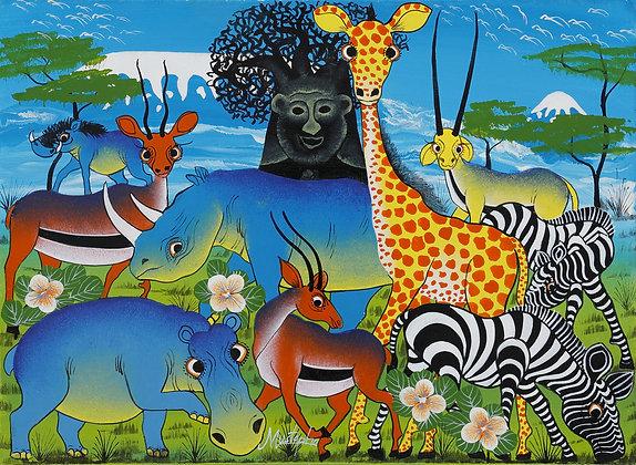Animals / Kilimanjaro / Baobab