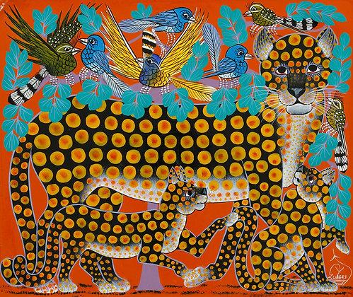 Panther family/Bird