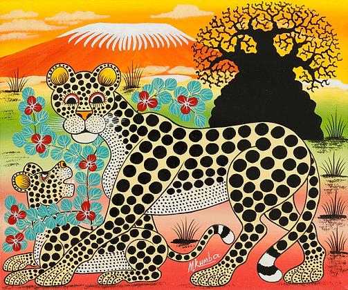 Panther family/Baobab/Kilimanjaro