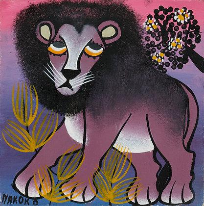 Lion/Flower