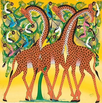 Giraffe brothers/Bird