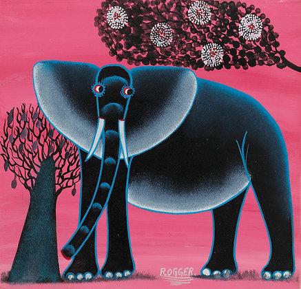 Elephant/Flower/Baobab