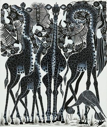 Giraffe/Bird
