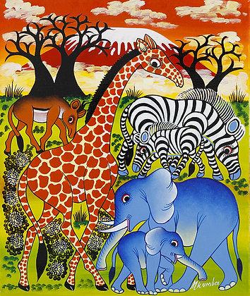 Animals  / Baobab / Kilimanjaro