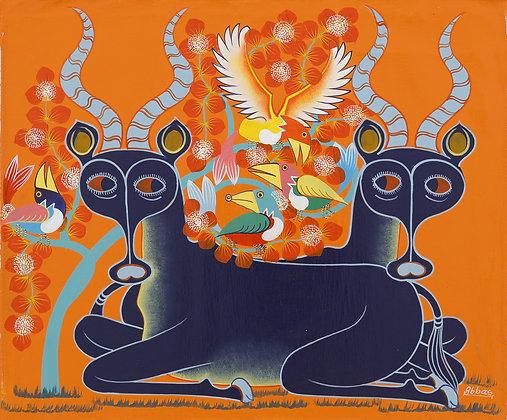 Antelope / Bird