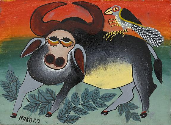 Buffalo / Bird