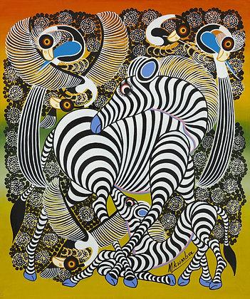 Zebra / Bird