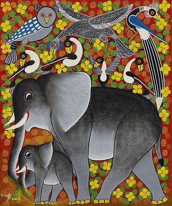 Elephant/Bird