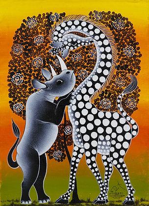 Rhinoceros / Giraffe