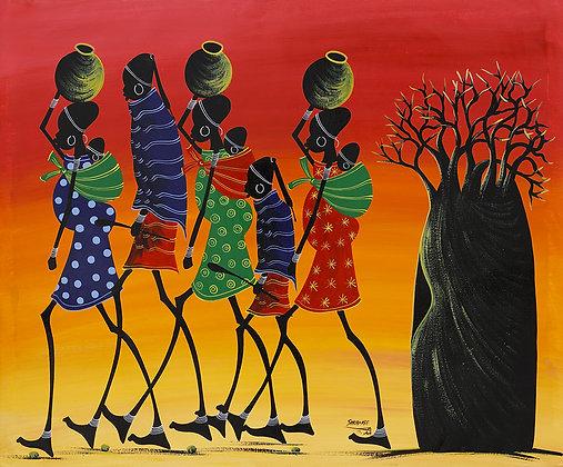 Masai/Baobab