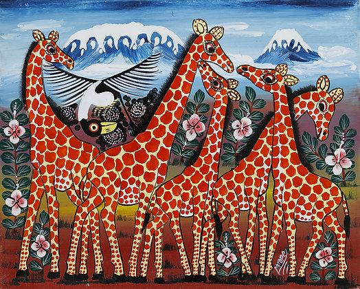 Giraffe/Kilimanjaro