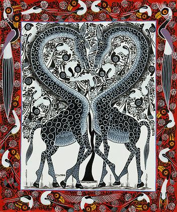 Giraffe/Heart
