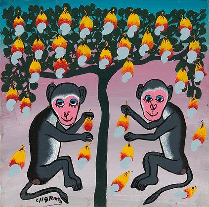 Monkey/Mango tree
