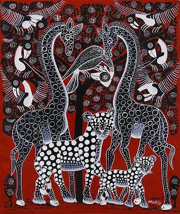 Giraffe/Panther
