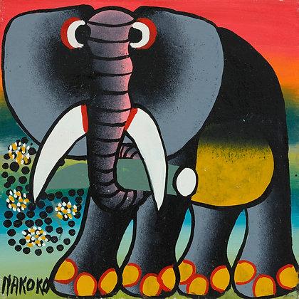Elephant/Flower