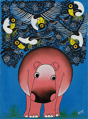 Hippo/Bird