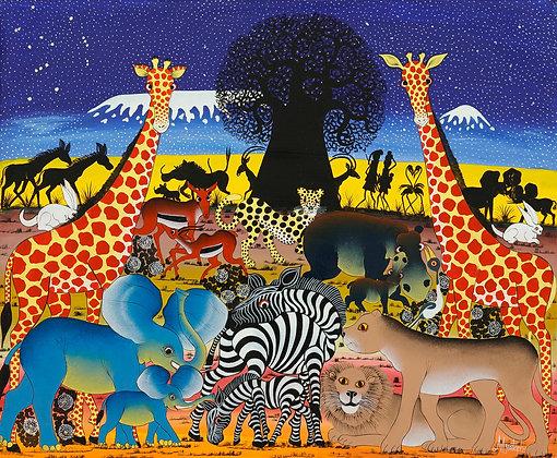 Animals/Baobab/Kilimanjaro/Orion